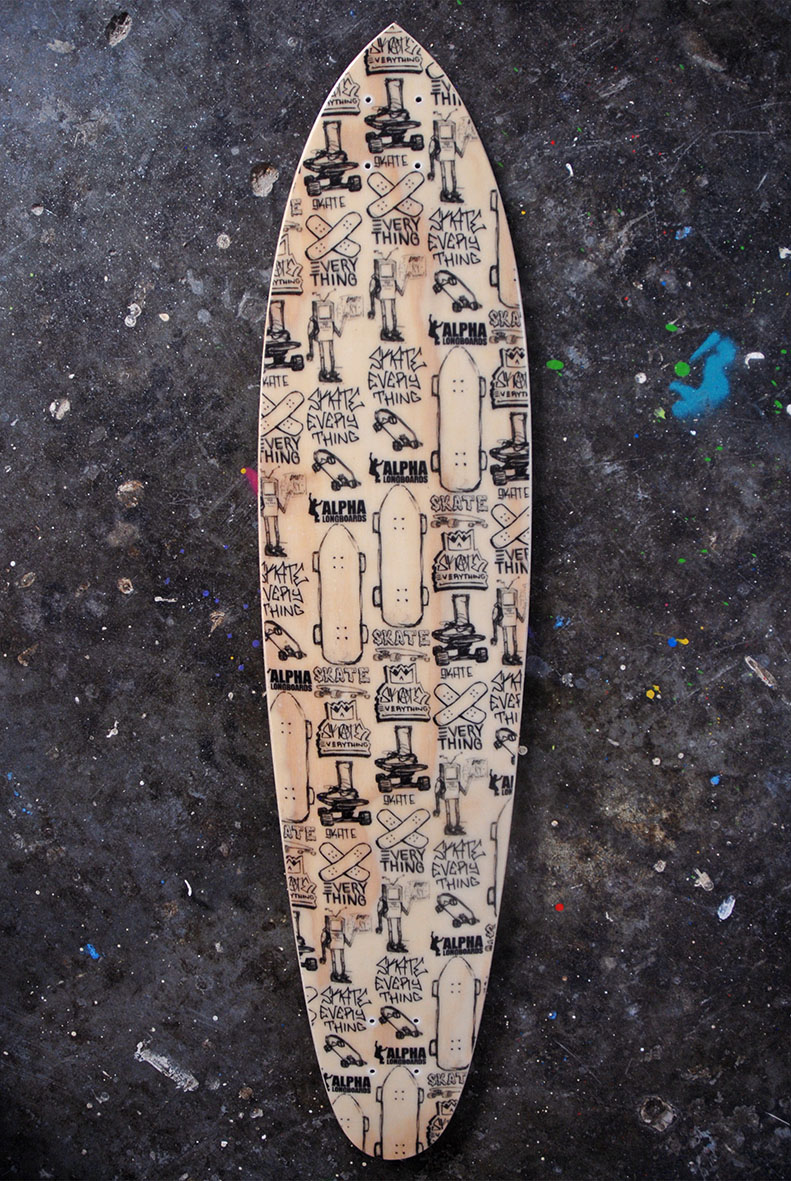 Roundtail Pintail SKATE EVERYTHING hemp